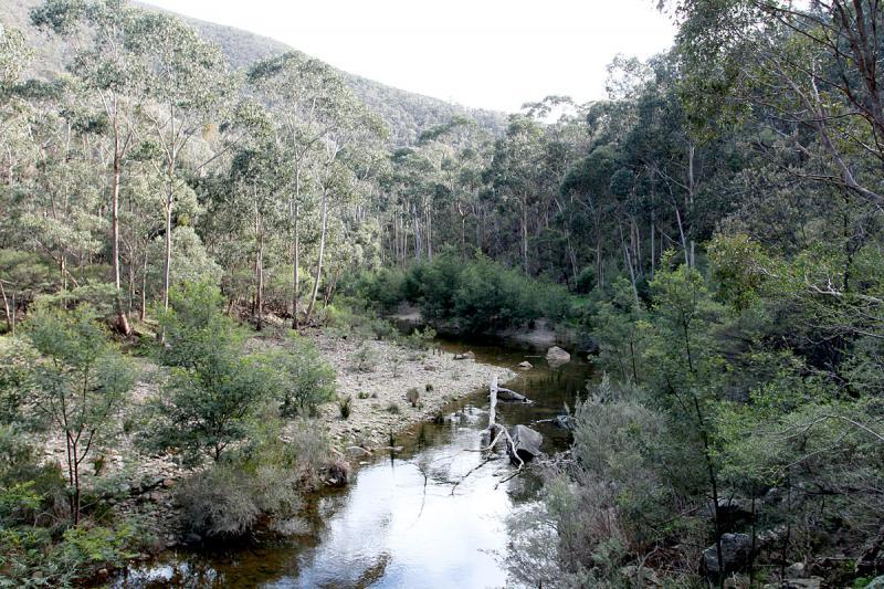 Lerderderg river
